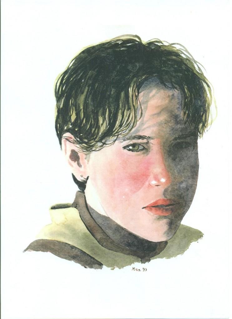 ritratto di ragazza da Rossano Calabro