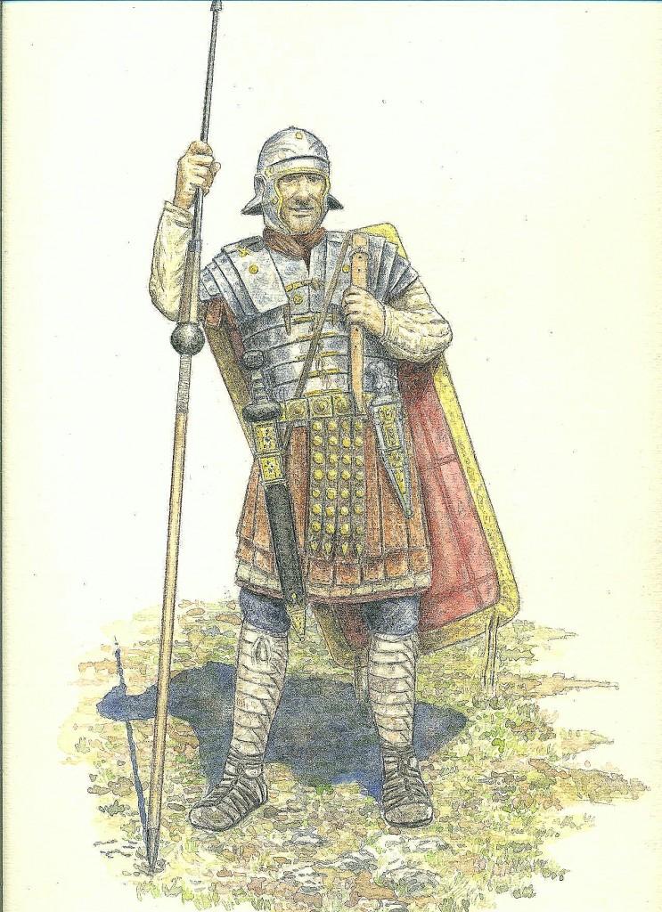tav.2 legionario di epoca imperiale