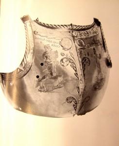 corsaletto appartenuto al comandante dei lanzichenecchi Konrad von Bemelberg