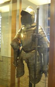 Rüstung des deutschen Soldaten Museo Marzoli