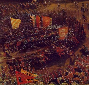 Fig.3 Altdorfer la battaglia di Isso 1528-29