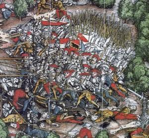 Fig.7  battaglia di Dornach