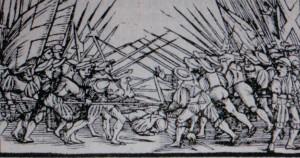 Svizzeri da una cronaca del 1548