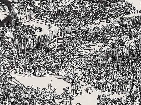 Fig1 Battaglia di Pavia di  Jörg Breu