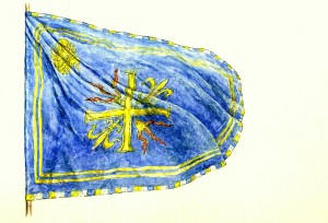 la bandiera di Pietro dal Monte Bourbon