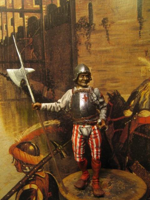 Alabardiere veneziano con caschetto