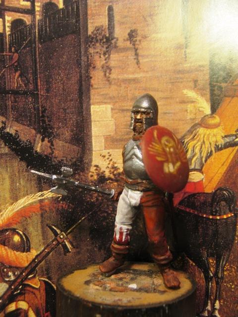 fante veneziano con martello d'arme
