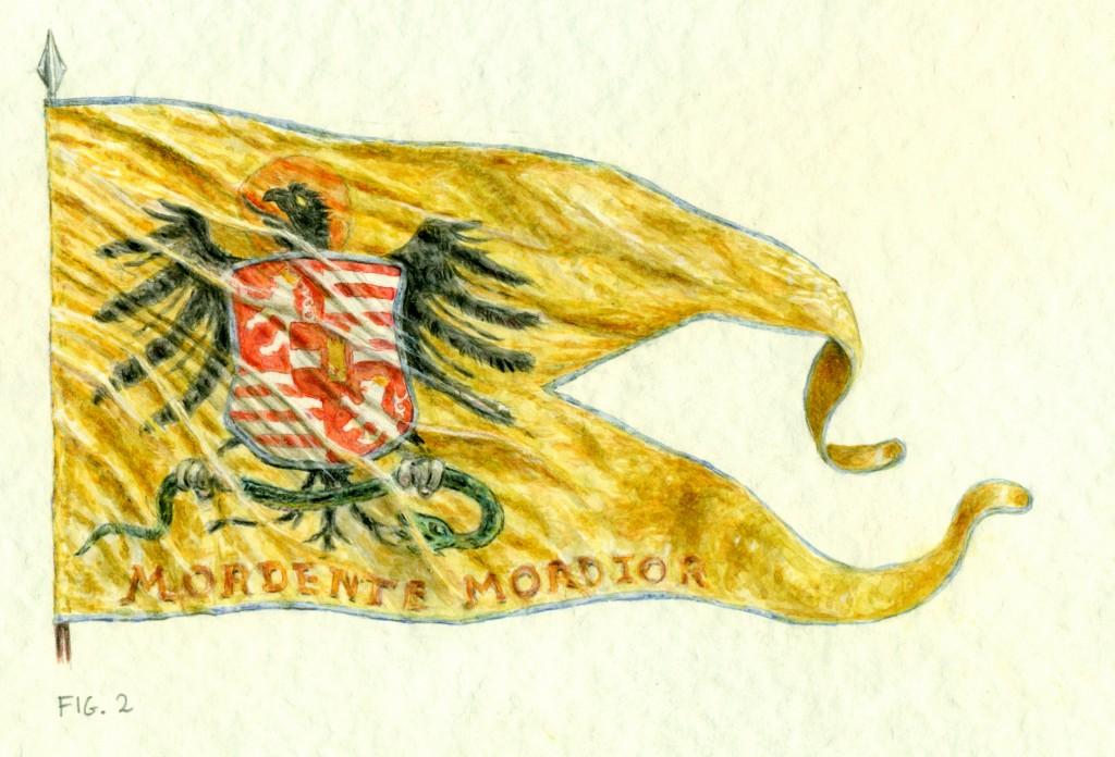 stendardo di Ferdinando d'Asburgo
