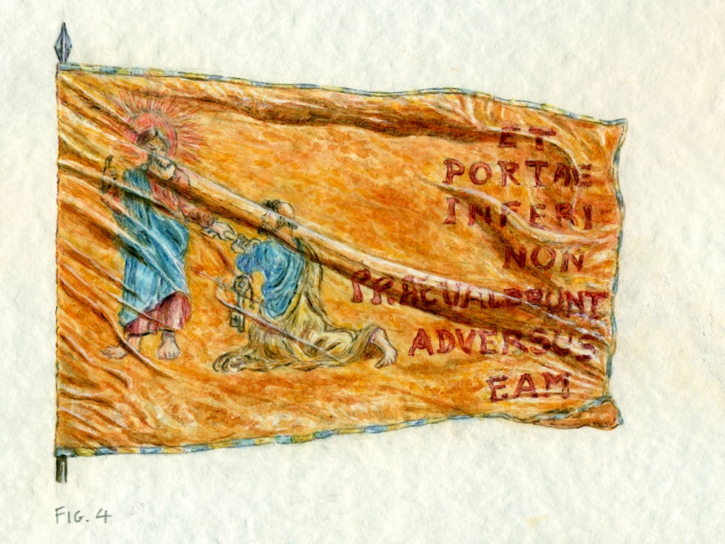 bandiera di Ottavio Farnese